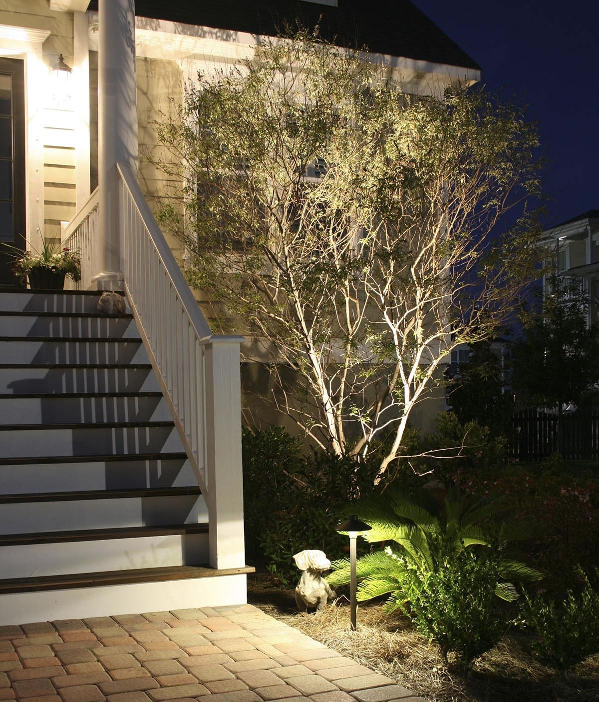 Professionally-Designed Charleston Outdoor Lighting